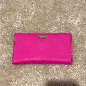 *Like new* Kate Spade hot pink wallet